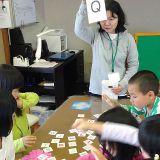 楽しく学べる教材を学童でも用意しています。